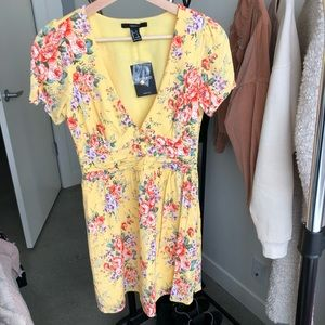 Beautiful floral babydoll dress